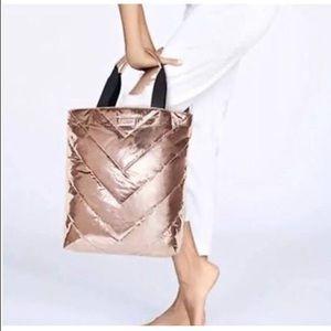 Victoria Secret Limited Edition Rose Gold Tote Bag